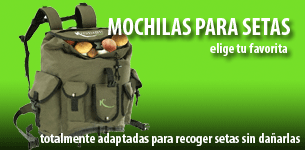 mochilas para setas