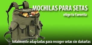 mochilas para setas