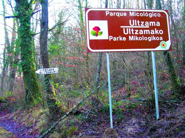 parque micológico  de Ultzama
