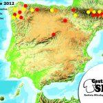 Setas septiembre 2012: setas al final de mes en determinadas zonas