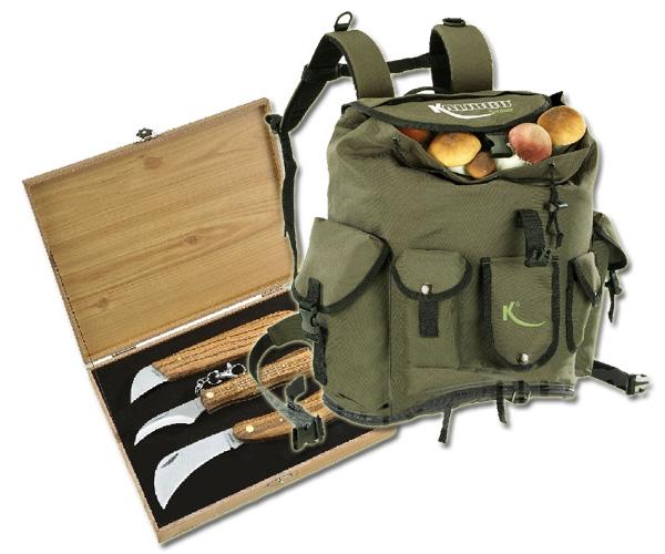 Pack Caja y Mochila para setas