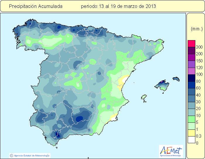 lluvias finales de marzo