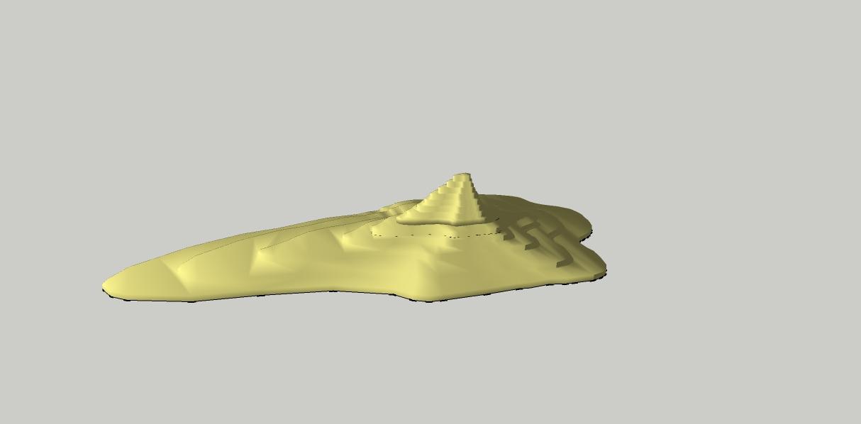 Figura 1.- CURVAS DE NIVEL MONTANYA