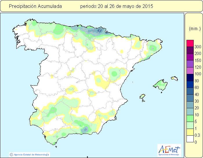 lluvia del 20 al 26 de mayo
