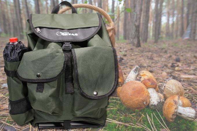 mochila para setas de Cesta y Setas